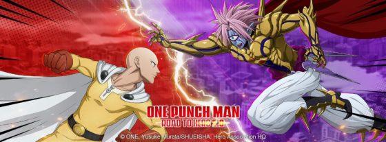 One Punch Man to Hero 2.0-Logo-560x207 ¡One Punch Man: Road to Hero 2.0 se lanzará a finales de junio!