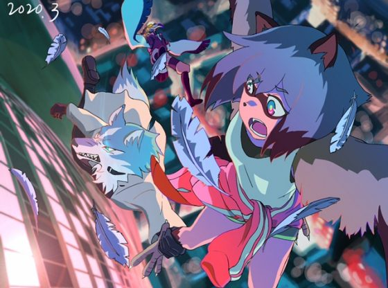 Beastars-manga-Wallpaper-423x500 agitando esas colas, ¡el ascenso del anime animal bastardo!
