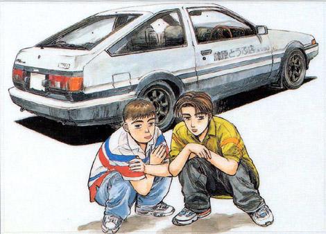 Initial-D-04-wallpaper-560x354 flashback del anime: ¡La cuarta etapa de Initial D y el debut de Blue Exorcist en abril!