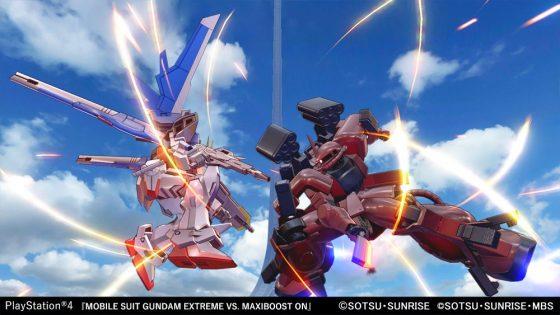 Acerca de MaxiBoost-GundamAGE-FX5_cp-560x315 de Mobile Suit Gundam EXTREME VS, se anuncia la fecha de acceso abierto. Abrir MAXIBOOST
