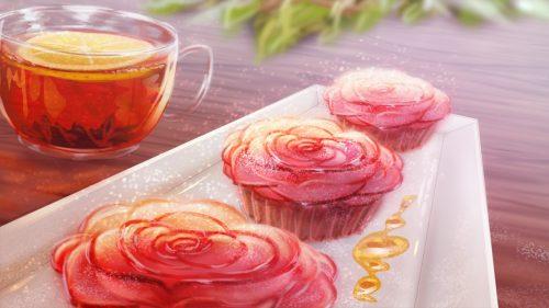 Strawberry_vinegar_splash-560x315 El vinagre de fresa es una hermosa novela visual, apta para gourmets, con un lado cruel y aterrador