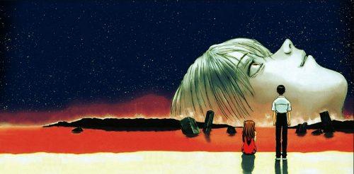 Neon-Genesis-Evangelion-Neon Genesis Evangelion-Doomsday Wallpaper-500x246 5 escenas de playa de anime que no están llenas de diversión bajo el sol, ¡perfectas para el verano de 2020!