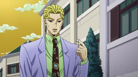 Kira-Yoshikage-JoJo-no-Kimyou-na-Bouken-Capture-560x315 coopera con estos populares animes Merch de JOJO y Eizouken, ¡mantén la calma de Ota!