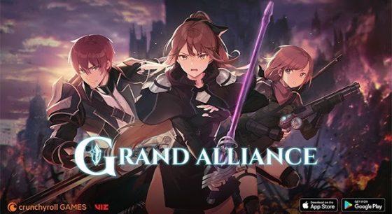 Grand-Alliance-SS-1-560x306 VIZ y Crunchyroll unen sus manos para usar el nuevo RPG fighter.