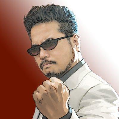 ¡El puño de hierro de Harada se sienta en el infierno! ¡Feliz cumpleaños a Katsuhiro Harada!