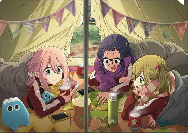 Heya-Camp-Wallpaper 2020 anime de comedia de invierno, debes ponerte al día