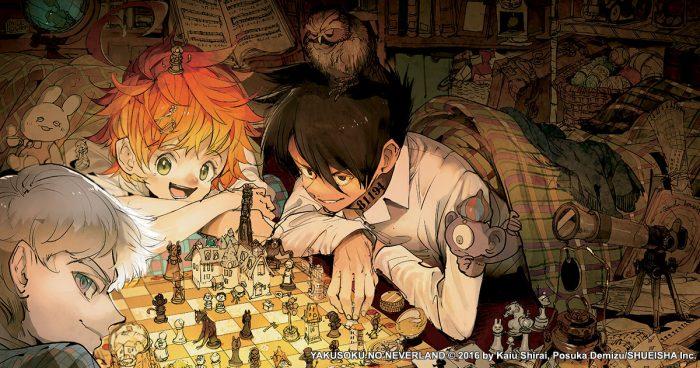 Yakusoku-Neverland-Wallpaper-1-700x368 diez personas más inteligentes en el manga Yakusoku no Neverland (Promised Neverland)