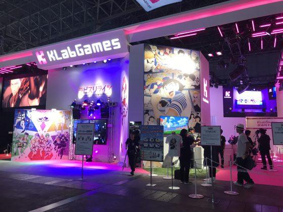 KlabGames-TGS-560x294 2018 Tokyo Game Show Día laboral: informe del stand de KLabGames