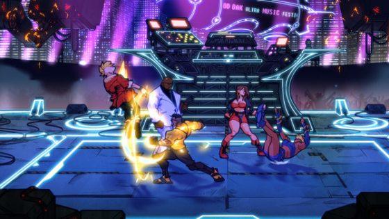 El video de Wrath Street 4SS-1-560x315 Wrath Street 4 muestra luchadores de pixel art jugables y bandas sonoras clásicas, rindiendo homenaje a la trilogía original