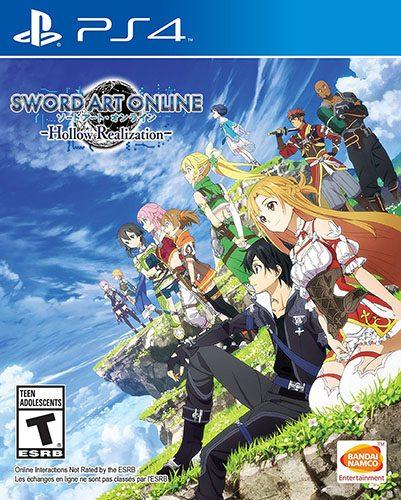 Sword Art Online Hollow Realization-ps4-401x500 Sword Art Online: Hollow Realization nuevo tráiler de actualización anunciado