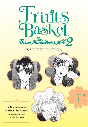 Fruit Basket, Three Musketeers Arc-2-348x500 Yen Press anunció el nuevo capítulo del cómic digital Fruit Basket
