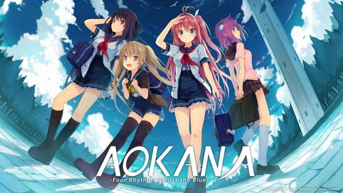 Aokana-Key-700x394 ¡Los ritmos Aokana-Four en azul ya están disponibles para Nintendo Switch!