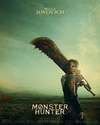 MOnster-Hunter-Hollywood-400x500 ¡El tráiler de acción en vivo de