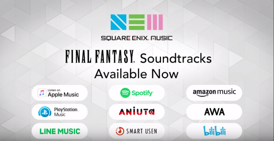 Square-Enix-Music-560x289 ¡La biblioteca musical de Square Enix está a punto de convertirse en una plataforma de transmisión global!