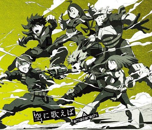 My-Hero-Academia-wallpaper-500x430 ¿Qué lo convierte en un buen protagonista adolescente?