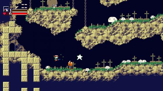 cavestory-560x165 Tu nuevo juego favorito, Cave Story +, está en la tienda hoy