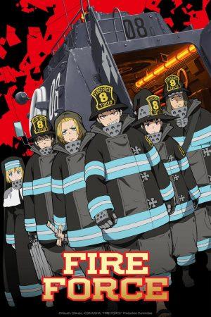 Enen-no-Shouboutai-Fire-Force-300x450 ¡Enen no Shouboutai (Cuerpo de bomberos) lanza una nueva versión de OP para Fall Cours!