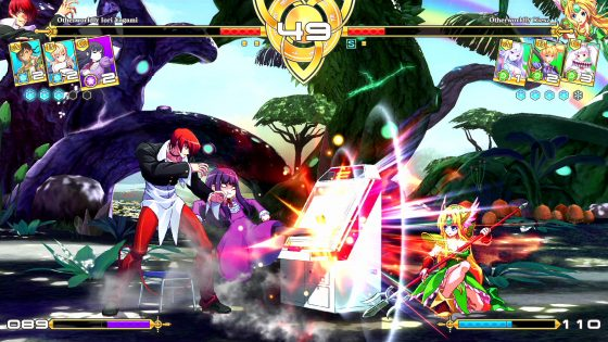 ¡El mejor luchador 2D de Million-Arthur-Arcana-Blood-Logo, Million Arthur: Arcana Blood ya está disponible!