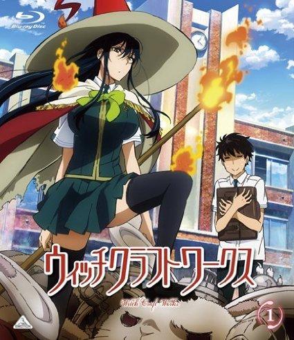 Las 10 mejores chicas altas de anime en Witch-Craft-Works-wallpaper