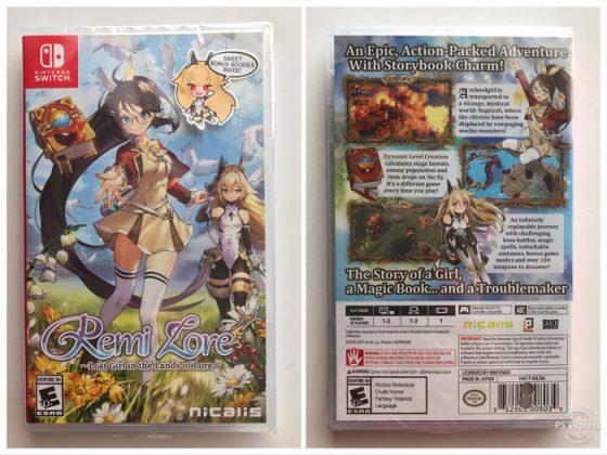 Logo La chica en la tierra perdida Capture 500x312 Unboxing RemiLore ~ La chica perdida en la tierra del conocimiento ~ Nintendo Switch
