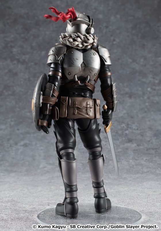 """Good-Smile-Goblin-Slayer-5-560x373 muestra a """"Goblin Slayer"""" como el tercer personaje de la serie de personajes """"POP UP PARADE""""."""
