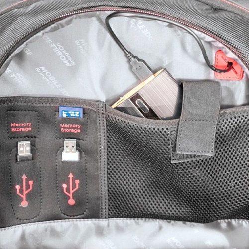 Feat-E3-2019-Capture la mochila para juegos principal de Mobile Edge con impresión de panel moldeado-E3 2019