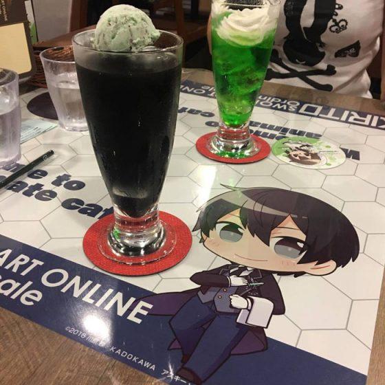 Postre Sword Art Online Captura 500x500 [Anime Culture Monday] Punto de acceso del anime de Honey: Sword Art Online: Ordinal Proportion Cafe de Ikebukuro Animation Cafe