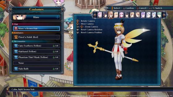 4gods Cyberdimension Neptunia: 4 diosas ¡capturas de pantalla personalizadas en línea!