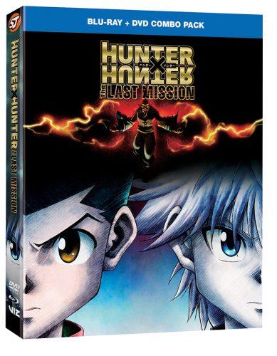 HunterXHunter-TheLastMission-ComboPack-3D-389x500 La película de animación HUNTER X HUNTER: Last MISSION apareció por primera vez en los medios domésticos en VIZ