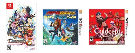 3games-560x222 directamente de Nintendo Direct, el productor de RPG Fes, fecha de lanzamiento de Culdcept Revolt y más.