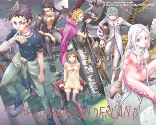 Deadman-Wonderland-Wallpaper-750x421 Comentarios y personajes de Deadman Wonderland-¿Puedes escapar del cadáver del carnaval?
