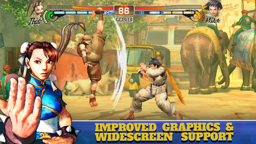 pantalla520x924 Street Fighter IV: Champion Edition ya está disponible para iOS.