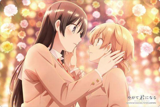 yagate-kimi-ni-naru-wallpaper 5 escenas que te harán cuestionar la importancia del amor romántico en Yagate Kimi ni Naru (Bloom Into You)