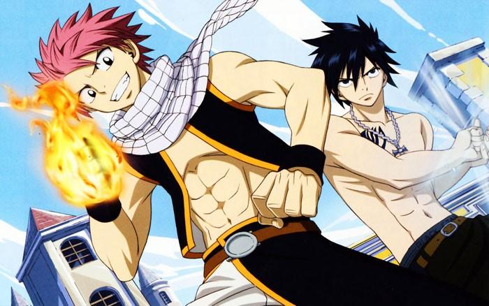 Natsu-Gray-FAIRY-TAIL-Wallpaper-700x438 5 razones por las que Natsu y Gray tienen el romance más fuerte