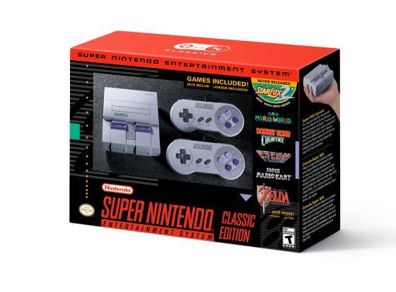 SNES_Mini_Box-560x413 Nintendo ha aumentado el inventario de Super NES Classic Edition; NES Classic Edition se relanzará en 2018