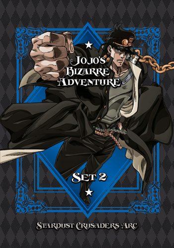 JoJosBizarreAdventure-Set02-StardustCrusaders-DVD-351x500 VIZ media details homepage Comunicado de prensa de JOJO'S BIZARRE ADVENTURE: STARDUST CRUSADERS