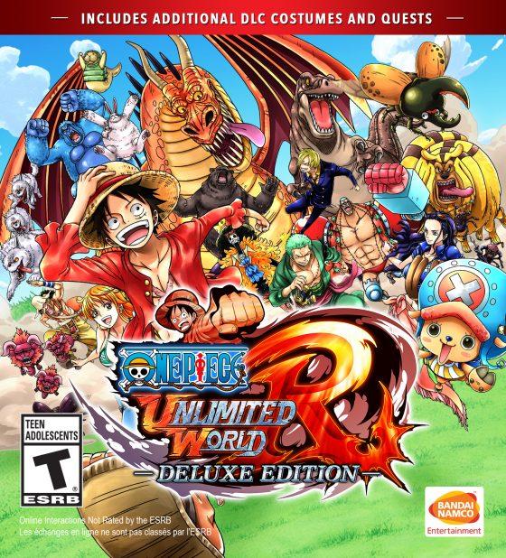 OPUWR_Digital_Front_DE_1-560x618 one piece: Infinite World Red Deluxe Edition se lanza para PlayStation 4 y Steam