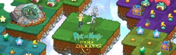 Rick-and-Morty-SS-1-560x176 Rick y Morty consiguen a Schwifty en el popular juego de Zynga Merge Dragons.