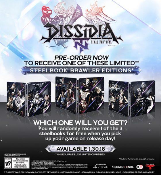 dissidia-1-560x355 ¡El tan esperado título DISSIDIA FINAL FANTASY NT llega el 30 de enero!