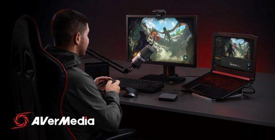 AverMedia-Live-Streamer-311-Bundle-SS-1-560x286 AVerMedia lanza Live Streamer 311 Bundle Streaming Kit para aspirantes a creadores de contenido