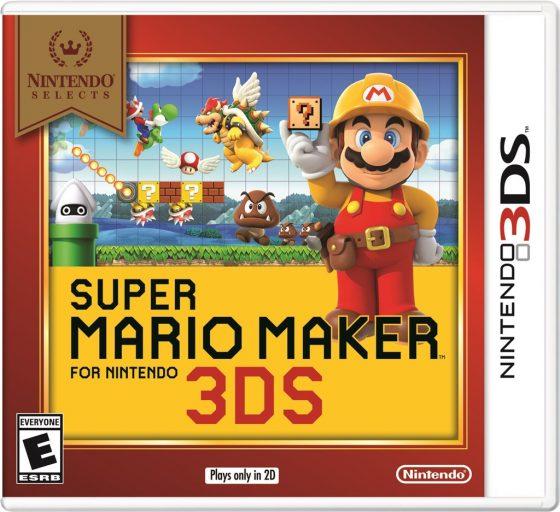 3DS_SuperMarioMaker_NS-560x512 los juegos clásicos de Mario, Zelda y Star Fox para Nintendo 3DS ahora solo cuestan $ 19.99 cada uno