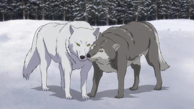 Golden-Kamuy-crunchyroll-Wallpaper Ookami-Wolf en la cultura y el anime japoneses
