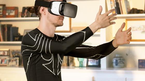 Shirtxemona-560x315 Xenoma lanza Kickstarter para el seguimiento de gestos de camisas de piel electrónicas